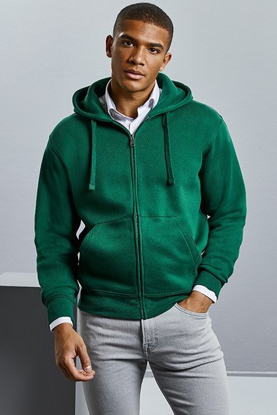 AUTHENTIC ZIPPED HOODIE