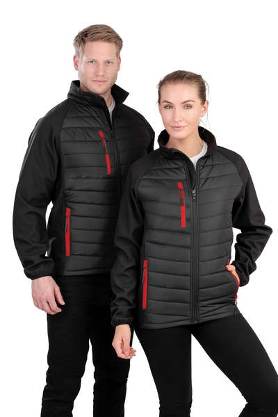 COMPASS PADDED SOFTSHELL JACKET