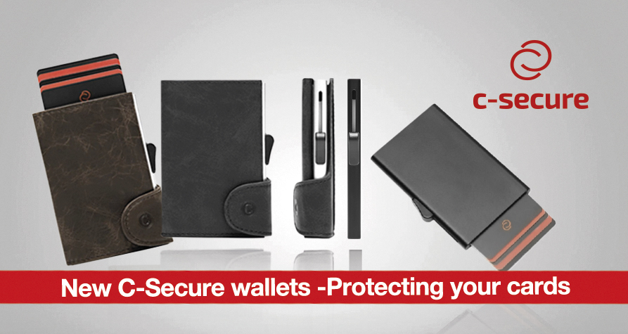 New C-Secure wallets - Protecting your cards