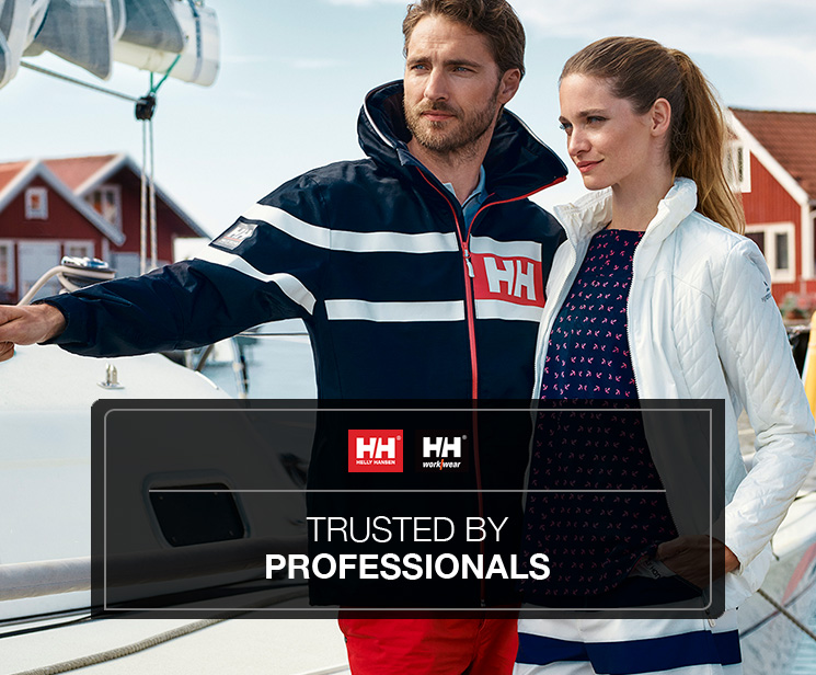 Helly Hansen — Trusted by professionals!